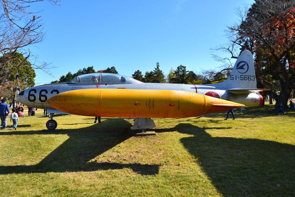 md11jbirdさんの航空自衛隊 Lockheed T-33 Shooting Star (51-5663) 航空フォト