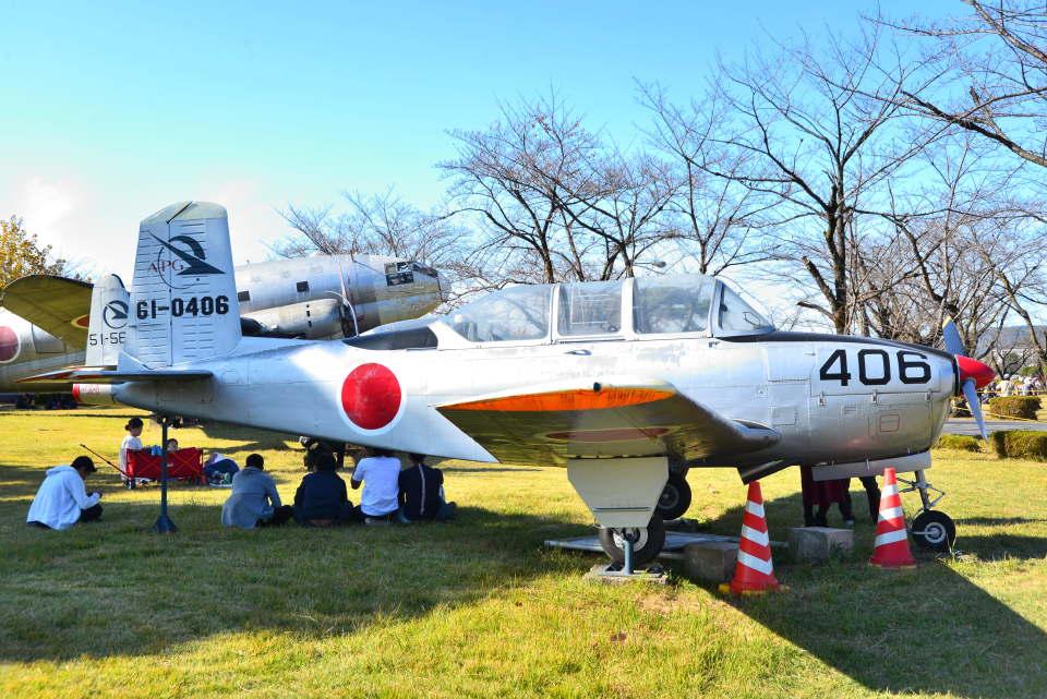 md11jbirdさんの航空自衛隊 Fuji T-34 (61-0406) 航空フォト