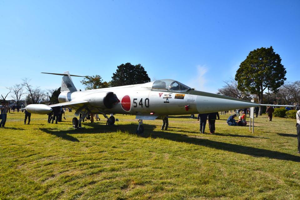 md11jbirdさんの航空自衛隊 Mitsubishi F-104 (36-8540) 航空フォト