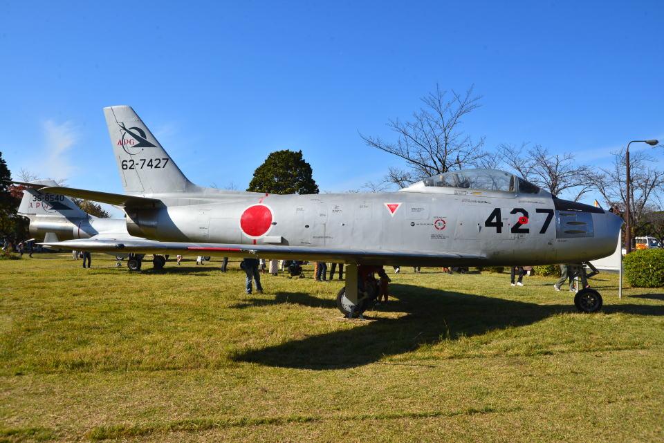 md11jbirdさんの航空自衛隊 North American F-86 Sabre (62-7427) 航空フォト
