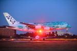 kamerajiijiさんが、成田国際空港で撮影した全日空 A380-841の航空フォト(写真)