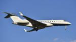 パンダさんが、成田国際空港で撮影したユタ銀行 BD-700-1A10 Global Expressの航空フォト(飛行機 写真・画像)