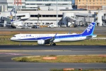 Izumixさんが、羽田空港で撮影した全日空 A321-272Nの航空フォト(写真)