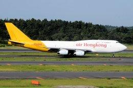 キットカットさんが、成田国際空港で撮影したエアー・ホンコン 747-467(BCF)の航空フォト(飛行機 写真・画像)