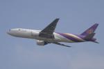 かずまっくすさんが、台湾桃園国際空港で撮影したタイ国際航空 777-2D7の航空フォト(写真)