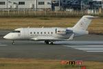 板付蒲鉾さんが、福岡空港で撮影したFAI レント・ア・ジェット CL-600-2B16 Challenger 604の航空フォト(写真)