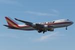 木人さんが、成田国際空港で撮影したカリッタ エア 747-4B5F/SCDの航空フォト(写真)
