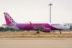 naveさんが、関西国際空港で撮影したピーチの航空フォト(写真)