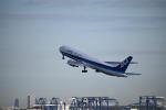だだちゃ豆さんが、羽田空港で撮影した全日空 767-381の航空フォト(写真)