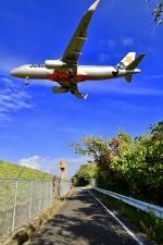 くれないさんが、高松空港で撮影したジェットスター・ジャパン A320-232の航空フォト(写真)