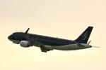 Zakiyamaさんが、福岡空港で撮影したスターフライヤー A320-214の航空フォト(写真)