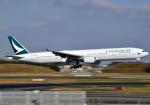 雲霧さんが、成田国際空港で撮影したキャセイパシフィック航空 777-31Hの航空フォト(写真)