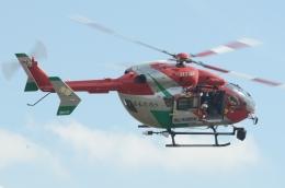 みいさんさんが、岡南飛行場で撮影した岡山市消防航空隊 BK117C-2の航空フォト(飛行機 写真・画像)