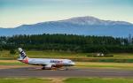 ひげじいさんが、庄内空港で撮影したジェットスター・ジャパン A320-232の航空フォト(写真)