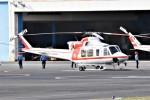 ヘリオスさんが、東京ヘリポートで撮影した朝日航洋 412EPの航空フォト(写真)