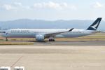 jun☆さんが、関西国際空港で撮影したキャセイパシフィック航空 A350-1041の航空フォト(写真)