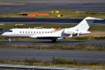 jun☆さんが、羽田空港で撮影したウィルミントン・トラスト・カンパニー BD-700-1A10 Global 6000の航空フォト(写真)