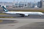 jun☆さんが、羽田空港で撮影したキャセイパシフィック航空 777-367の航空フォト(写真)