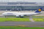 PASSENGERさんが、羽田空港で撮影したルフトハンザドイツ航空 747-830の航空フォト(写真)