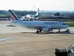 PW4090さんが、パリ オルリー空港で撮影したエールフランス航空 A319-111の航空フォト(写真)