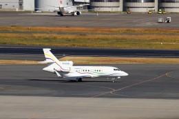 ハム太郎。さんが、羽田空港で撮影したSASインスティチュート Falcon 900の航空フォト(飛行機 写真・画像)