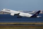 TIA spotterさんが、羽田空港で撮影したルフトハンザドイツ航空 A350-941XWBの航空フォト(写真)