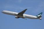 ドラパチさんが、成田国際空港で撮影したキャセイパシフィック航空 777-367の航空フォト(写真)