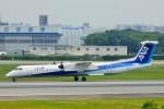 ちっとろむさんが、伊丹空港で撮影したANAウイングス DHC-8-402Q Dash 8の航空フォト(写真)