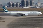 TIA spotterさんが、羽田空港で撮影したキャセイパシフィック航空 777-367の航空フォト(写真)