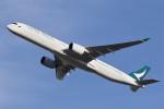 ドラパチさんが、成田国際空港で撮影したキャセイパシフィック航空 A350-1041の航空フォト(写真)