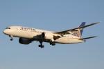 ドラパチさんが、成田国際空港で撮影したユナイテッド航空 787-8 Dreamlinerの航空フォト(写真)