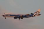 ドラパチさんが、成田国際空港で撮影したエアブリッジ・カーゴ・エアラインズ 747-8HVF(SCD)の航空フォト(写真)