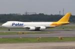 BOEING737MAX-8さんが、成田国際空港で撮影したポーラーエアカーゴ 747-87UF/SCDの航空フォト(写真)