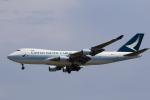 ★azusa★さんが、シンガポール・チャンギ国際空港で撮影したキャセイパシフィック航空 747-467F/ER/SCDの航空フォト(写真)