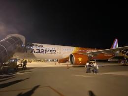 ユターさんが、ダナン国際空港で撮影したベトジェットエア A321-271Nの航空フォト(飛行機 写真・画像)