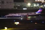 flyflygoさんが、福岡空港で撮影したアイベックスエアラインズ CL-600-2C10 Regional Jet CRJ-702ERの航空フォト(写真)