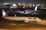 flyflygoさんが、福岡空港で撮影したスカイマーク 737-86Nの航空フォト(写真)