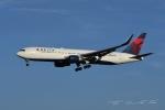 tassさんが、成田国際空港で撮影したデルタ航空 767-332/ERの航空フォト(飛行機 写真・画像)