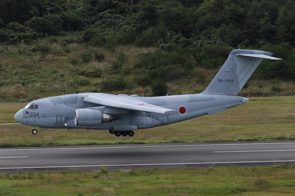 endress voyageさんの航空自衛隊 Kawasaki C-2 (68-1204) 航空フォト