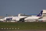けいとパパさんが、成田国際空港で撮影したLOTポーランド航空 787-9の航空フォト(写真)