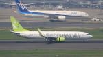 Cassiopeia737さんが、羽田空港で撮影したソラシド エア 737-86Nの航空フォト(写真)