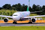 キットカットさんが、成田国際空港で撮影したエバー航空 A330-203の航空フォト(写真)