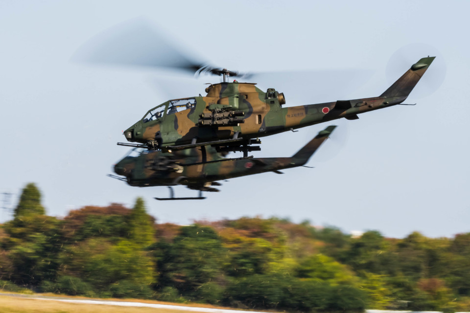 NCT310さんの陸上自衛隊 Fuji AH-1S (73439) 航空フォト