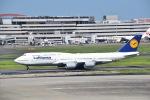 T.Kaitoさんが、羽田空港で撮影したルフトハンザドイツ航空 747-830の航空フォト(写真)