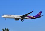 じーく。さんが、福岡空港で撮影したタイ国際航空 A330-343Xの航空フォト(飛行機 写真・画像)