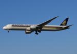 じーく。さんが、福岡空港で撮影したシンガポール航空 787-10の航空フォト(飛行機 写真・画像)