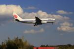 ☆ライダーさんが、成田国際空港で撮影した中国国際航空 A330-243の航空フォト(写真)