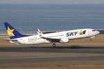 yabyanさんが、中部国際空港で撮影したスカイマーク 737-81Dの航空フォト(飛行機 写真・画像)