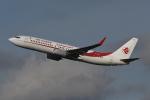 いもや太郎さんが、パリ オルリー空港で撮影したアルジェリア航空 737-8D6の航空フォト(写真)