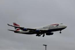 344さんが、ロンドン・ヒースロー空港で撮影したブリティッシュ・エアウェイズ 747-436の航空フォト(飛行機 写真・画像)